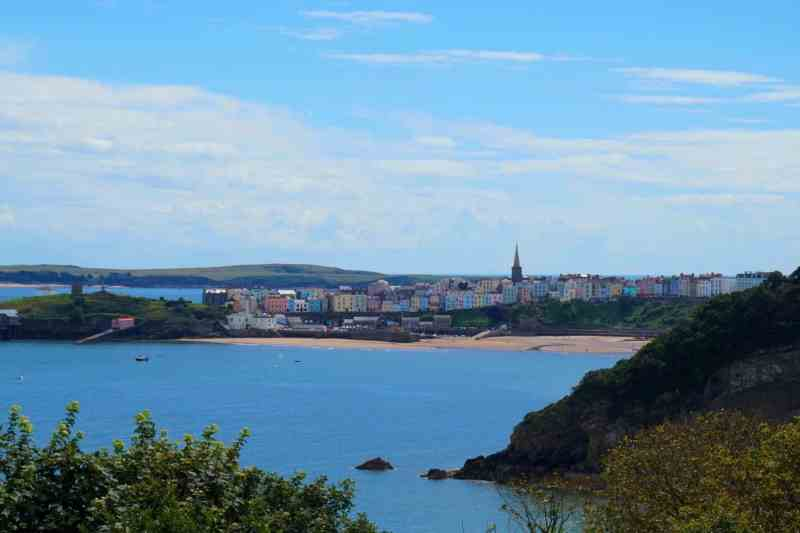 Colourful Tenby Town | Saundersfoot to Tenby