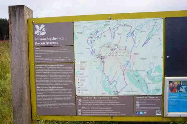 hiking pen y fan brecon beacons wales