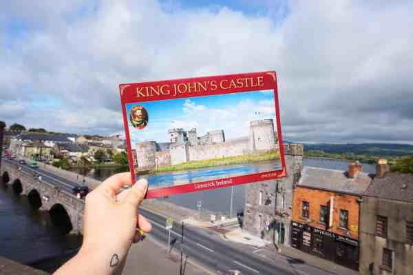 what to do in Limerick, King johns castle limerick