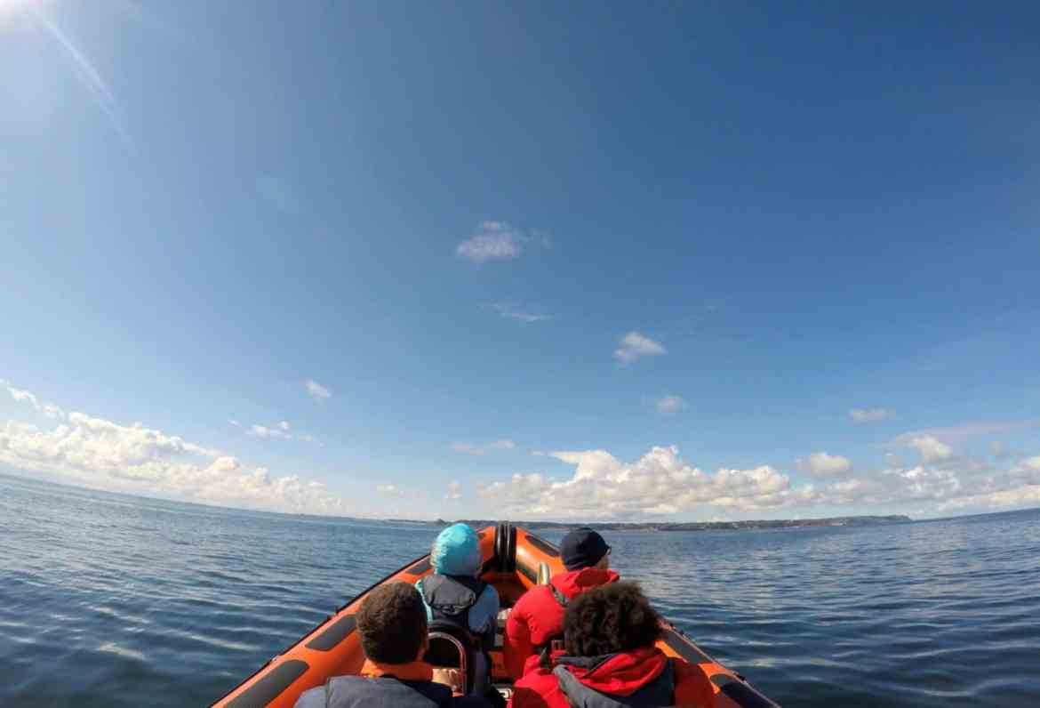 Jersey Channel Island itinerary, guide boat trip