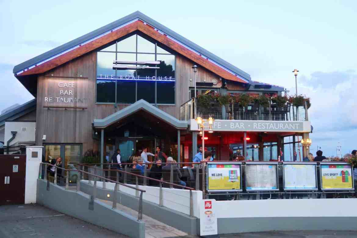 Jersey Channel Island itinerary, The Boat House St Aubin