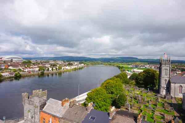 King johns castle view limerick