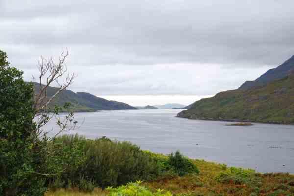 killary fjord west coast of ireland