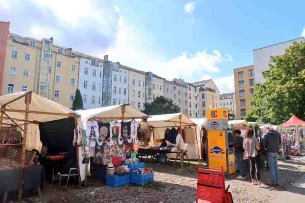 berlin mauerpark flea market