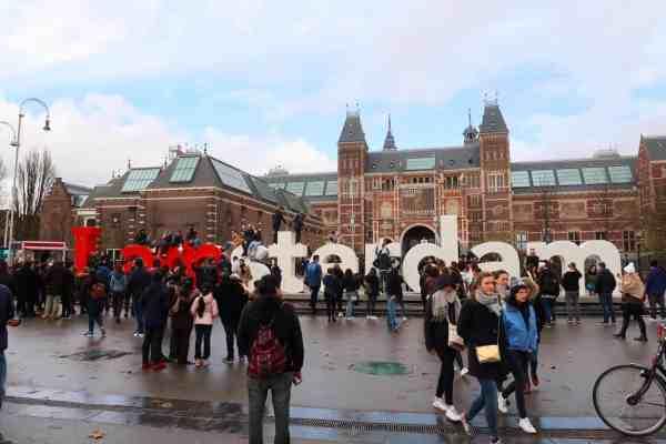 one day in Amsterdam solo, i am amsterdam
