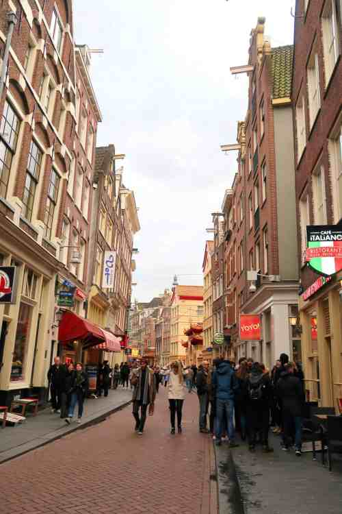 Amsterdam one day solo guide chinatown
