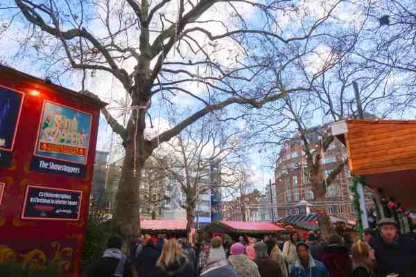 Christmas London Guide Walk leicester square