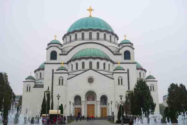 belgrade church of saint sava