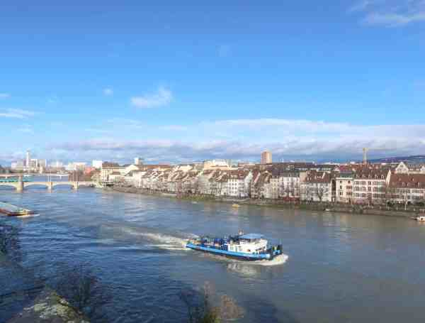 Basel Travel Guide, rhine river