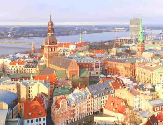 Riga Viewpoints panoramic view