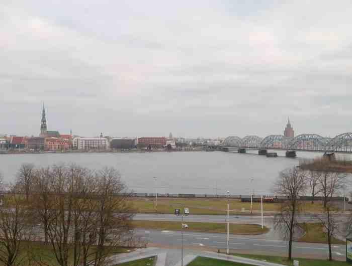Riga Viewpoints panoramic view national library of Latvia