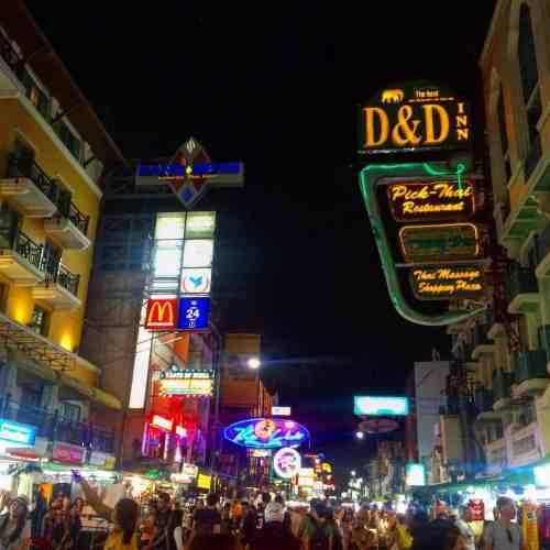 thailand party itinerary bangkok