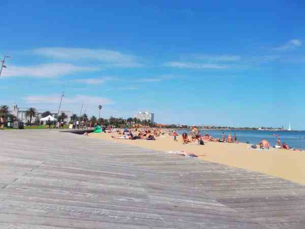 St Kilda beach Melbourne things to do