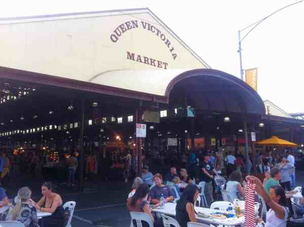victoria night market Melbourne things to do