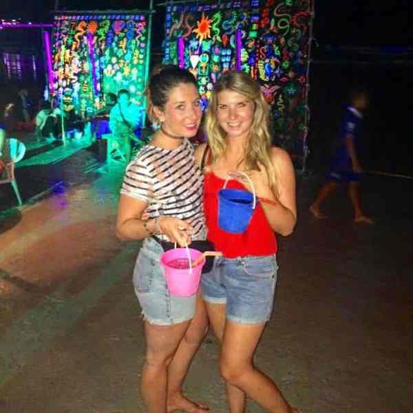 thailand party itinerary koh phangan