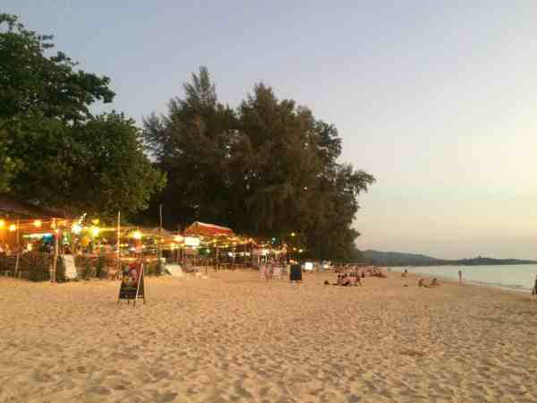 thailand party itinerary koh lanta
