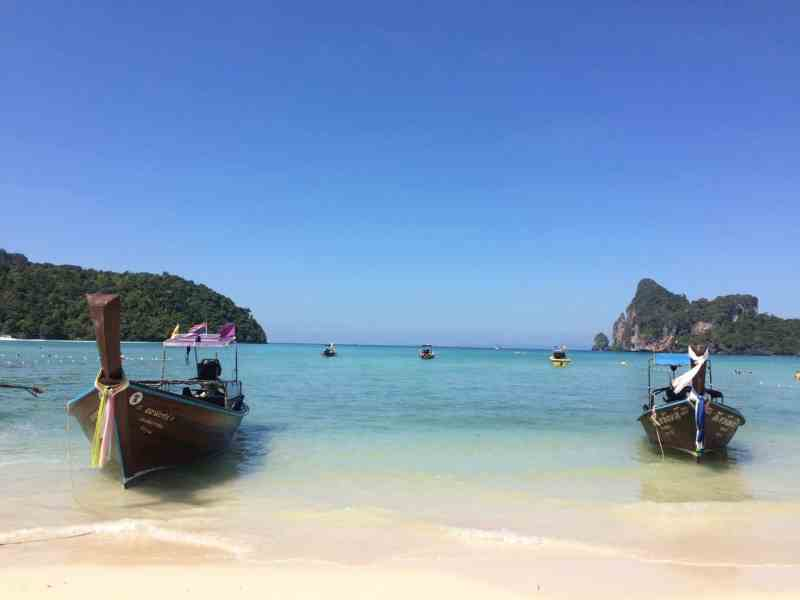 1 month Thailand itinerary, phi phi