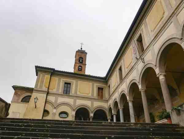 Gianicolo Hill Rome monastery
