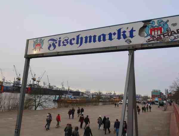 2 days in Hamburg fish market