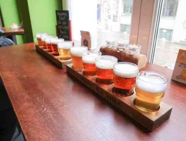 2 Days in Hamburg barley and malt beer tasting