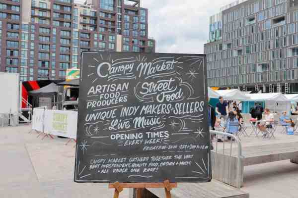 Kings Cross and Euston Things to do Canopy Market