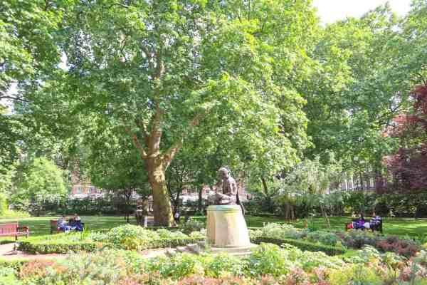 Kings Cross and Euston Things to do Tavistock Gardens