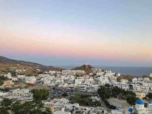 Ios Greece Sunset