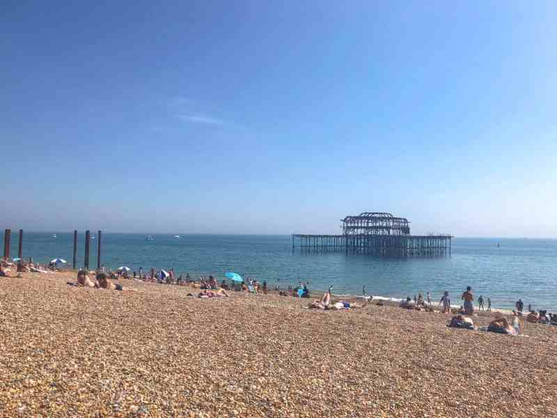 brighton things to do on a day trip from London brighton beach