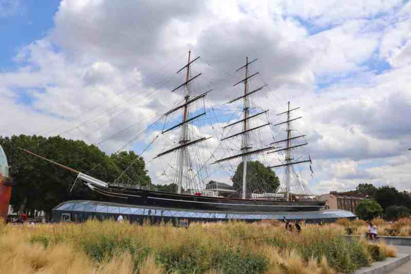 things to do in Greenwich London, Cutty Sark museum