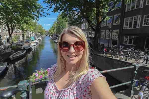 Amsterdam solo female traveller