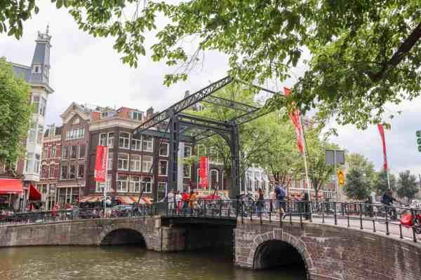 Amsterdam Central to Rijksmuseum, Amsterdam lifting bridge