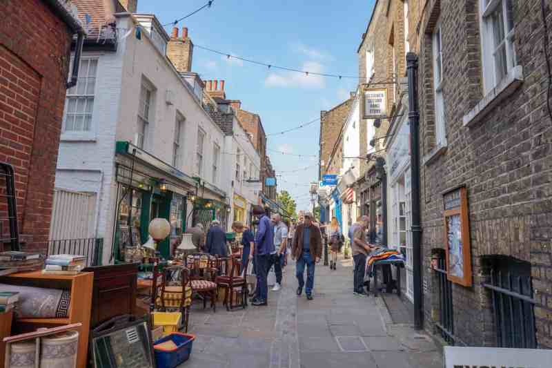 Things to do in Hampstead London Flask Walk Antiques