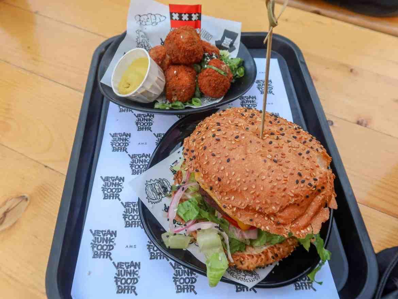 Amsterdam Solo Travel, Amsterdam vegan food eating alone