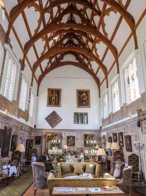 Fawsley Hall Afternoon Tea and Spa Day, Grand Hall
