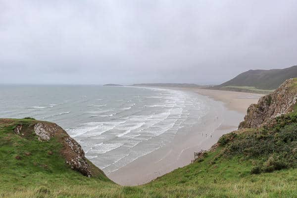 Rhossili Bay with Real Wales Tours