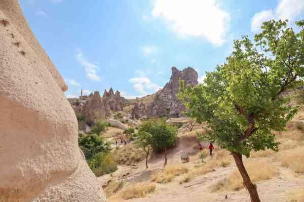 Castle Goreme Cappadocia