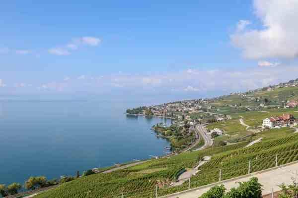 Montreux to Lausanne Lavaux