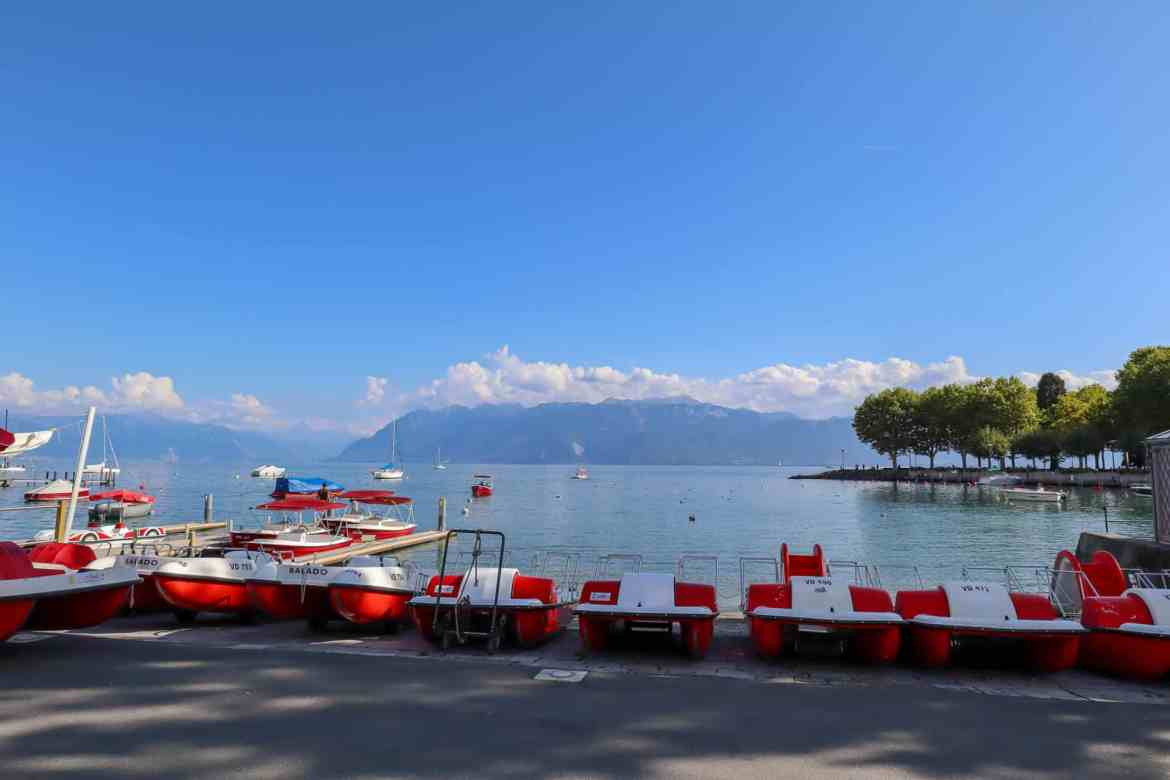 MMontreux to Lausanne, Lausanne to Montreux, lake geneva