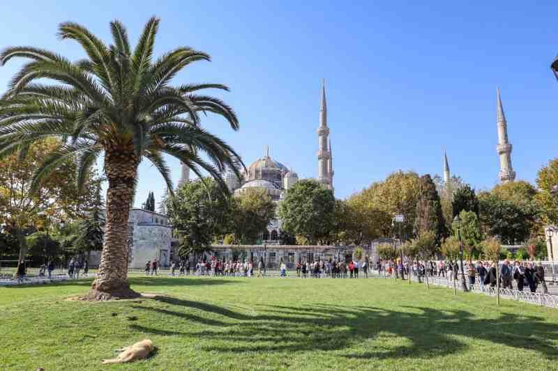 Istanbul to Cappadocia, Blue Mosque