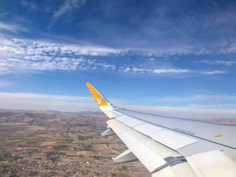 Cappadocia itinerary, Pegasus Airlines London to Cappadocia