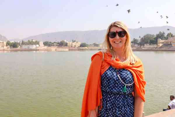 things to do in Pushkar holy lake blessing