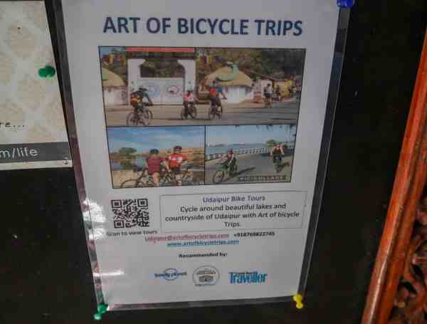 things to do in Udaipur bike tour
