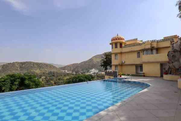 Shahpura Kumbhal Villas in Kumbhalgarh swimming pool