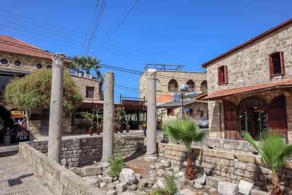 Beirut to Byblos by Uber byblos ruins