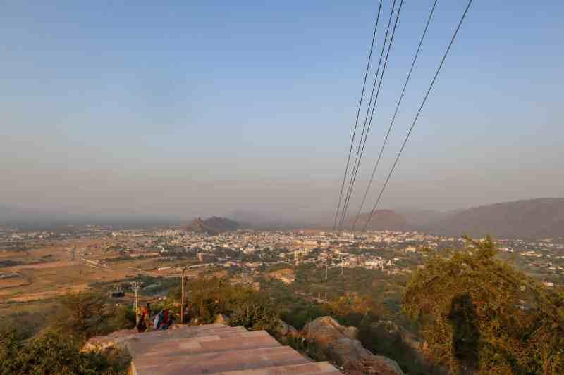View of Pushkar from Savitri Temple | things to do in Pushkar