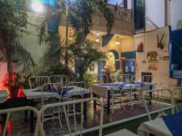 La Pizzaeria Garden Restaurant Pushkar