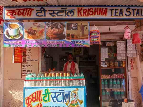 Krishna tea stand pushkar