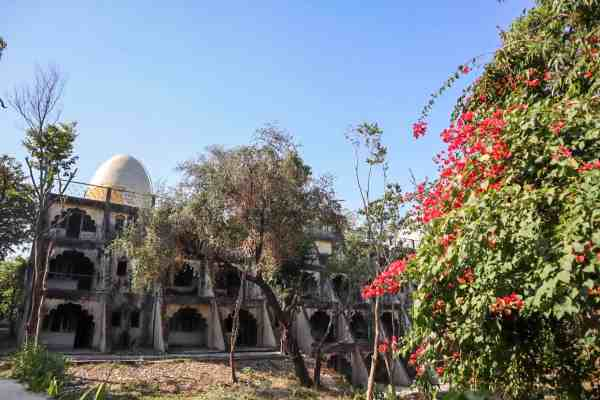 The Beatles Ashram Rishikesh accommodation ruins