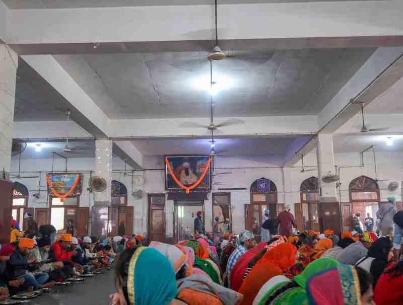 Golden Temple Langar Hall Kitchen Amritsar