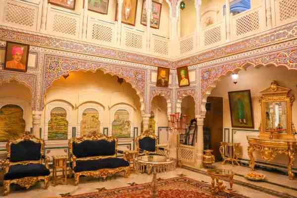 Shahpura House Hotel Jaipur decor